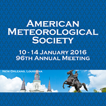 AMS 96th Annual Meeting, 2016Imagen del evento